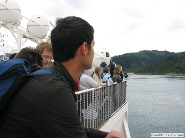 Cook Strait Ferry, New Zealand
