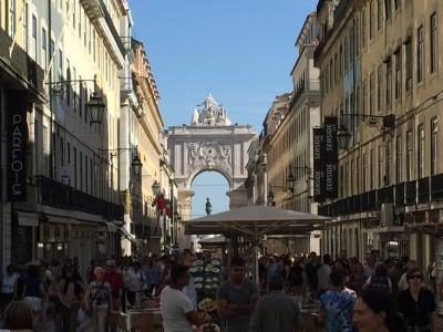 LisbonBaixaShoppingStreet